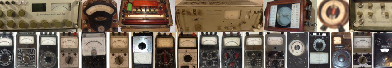 Opa's alte Messtechnik von 1880 – 1980